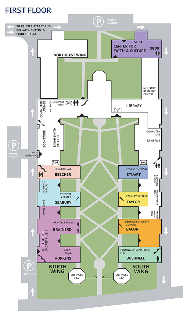 Campus Map Yale Divinity School