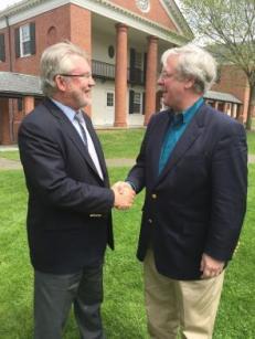 YDS Dean Greg Sterling and ANTS President Martin Copenhaver