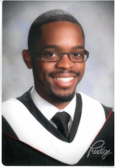 Qadry Harris graduation photo