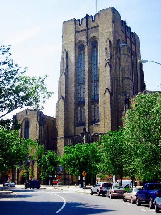 The Payne Whitney Gym at Yale
