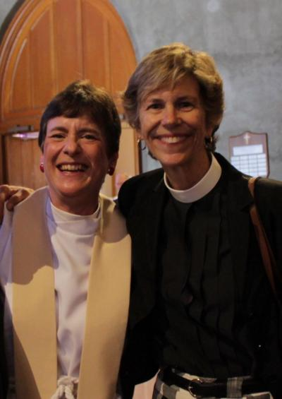 Betsy Anderson and Penny Bridges Photo