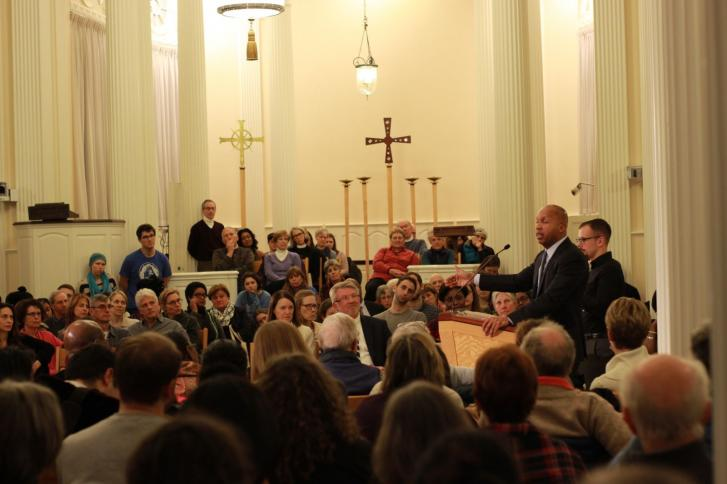 Bryan Stevenson delivers the Parks-King Lecture