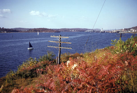 Thames River New London, CT - 1951