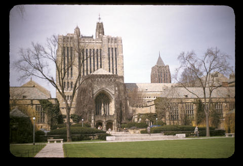 Yale Library - April, 1952