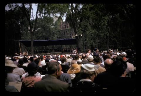 Yale University graduation - June 1952