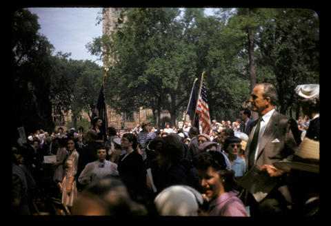 Yale Procession - June 1952