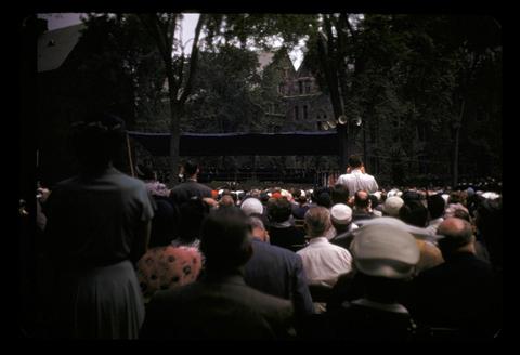 Yale Graduation - June 1952