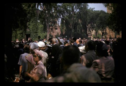 Yale after graduation - June 1952