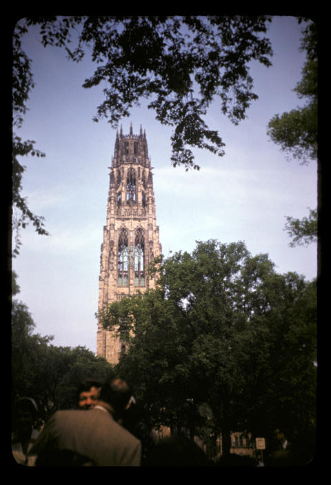 Yale Harkness Tower - June 1952