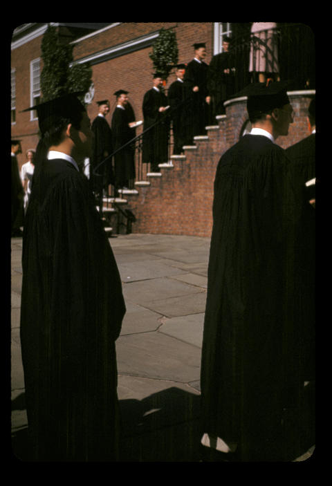 YDS Baccalaureate Dady and Buma - 1952