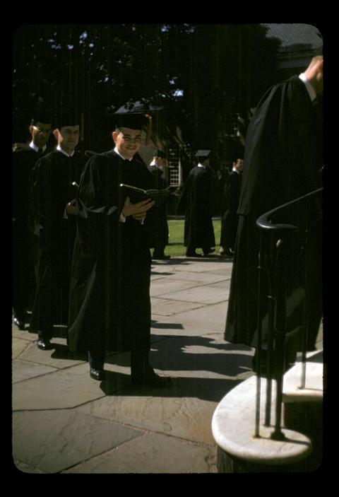 YDS Baccalaureate Raymond E. Oliver - 1952