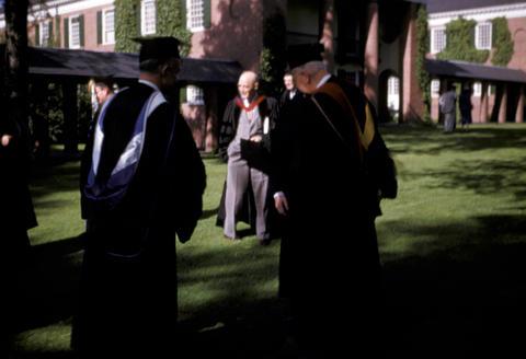 YDS Baccalaureate Luccock, Neibuhr - 1952