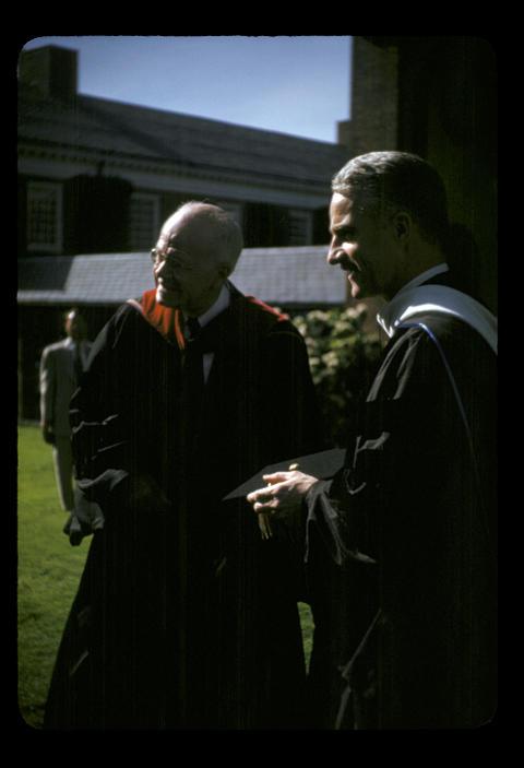 YDS Baccalaureate Neibuhr - 1952
