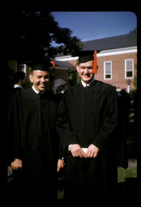 YDS graduation Ken Buma and me - 1952
