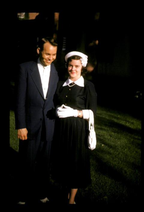 YDS Raymond E. Oliver and Frances - 1952