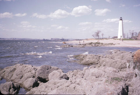 New Haven Lighthouse Point - 1952