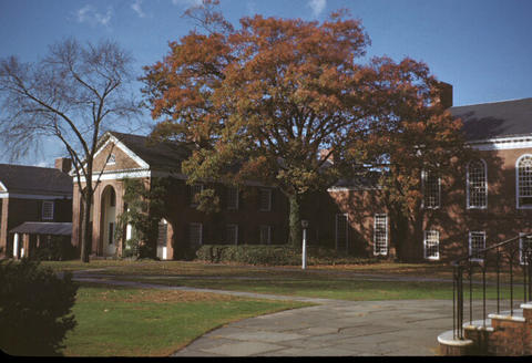 Yale Divinity School Quadrangle - 1949