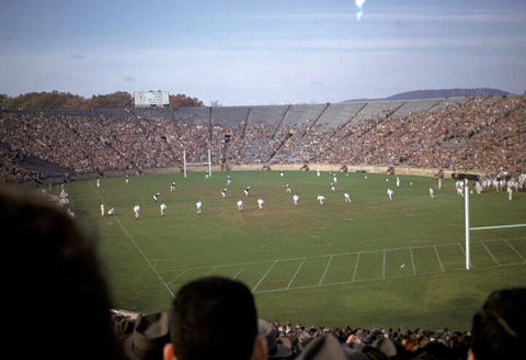 Yale Bowl Brown vs. Yale football game - 1949
