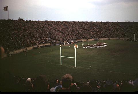Yale Bowl Yale vs. Harvard game - 1949