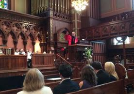 Dean Greg Sterling at Old South Church