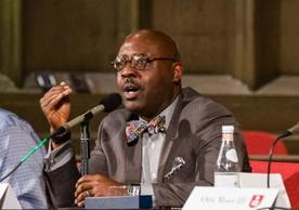Prof. Willie Jennings speaking at Chicago panel event
